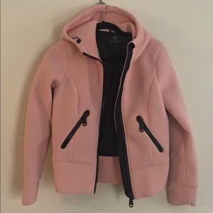 Goldbergh 4 small s ski pink fleece hood jacket